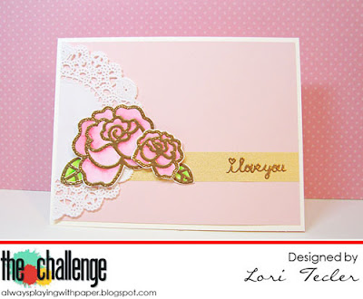 I Love You card-designed by Lori Tecler/Inking Aloud-stamps from Paper Smooches