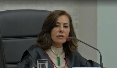 Desembargadora Tânia Garcia recorre para  impedir processo contra filho por tráfico