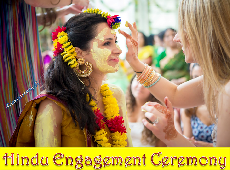 Hindu Engagement Ceremony and the most important pre wedding ritual