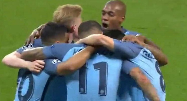 cuplikan gol leicester vs manchester city 0-4