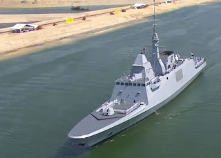 Egyptian FREMM frigate