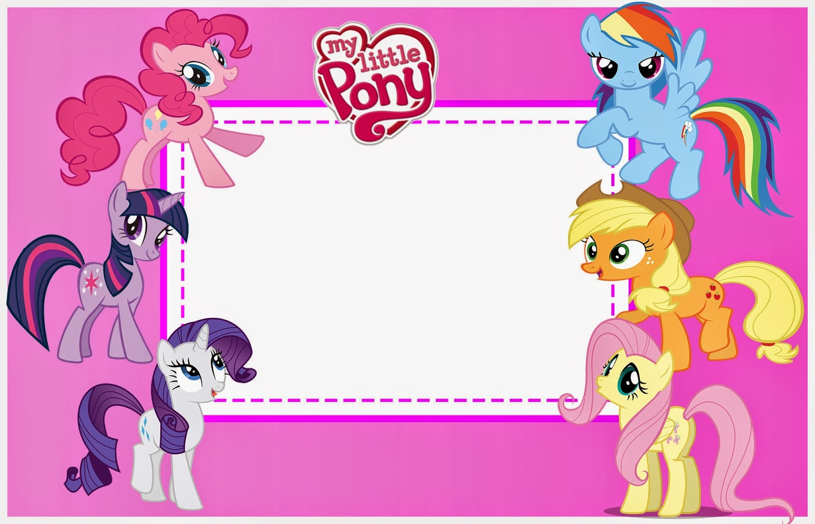 picture about My Little Pony Printable referred to as My Small Pony Absolutely free Printable Package. - Oh My Fiesta! for Geeks
