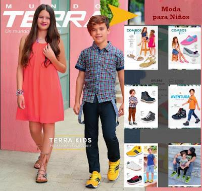Moda de Niños Terra 2017