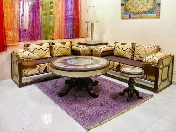 Décoration Salon Marocain Moderne ou Traditionnel Photos: 2014