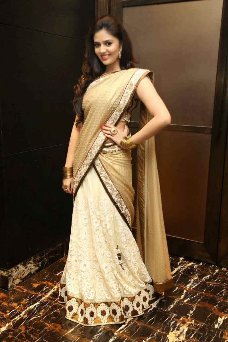 TV Anchor Sreemukhi Hot At Fashion Walk Event