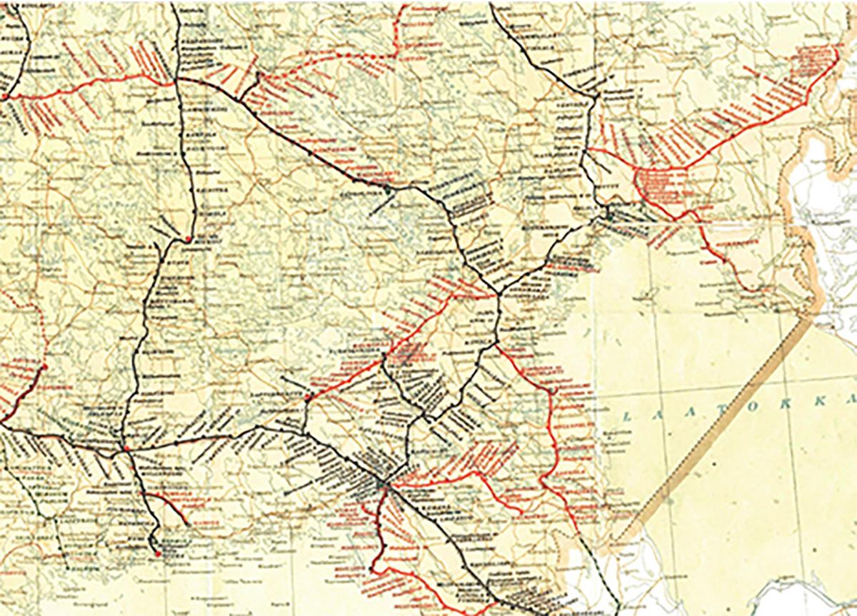 Kemppinen Rautatiet Ennen