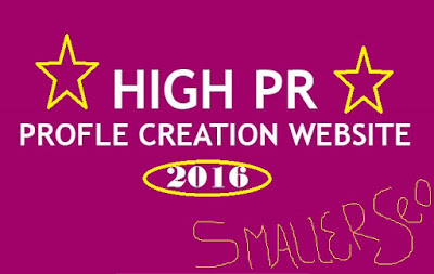 Profile Creations Site Lists