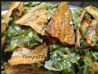 ikan asin gabus balado cabe hijau