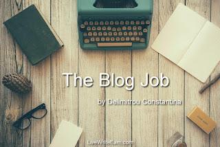 The Blog Job. Το πρώτο ebook του LiveWriteEarn.com για εισόδημα από το γράψιμο!