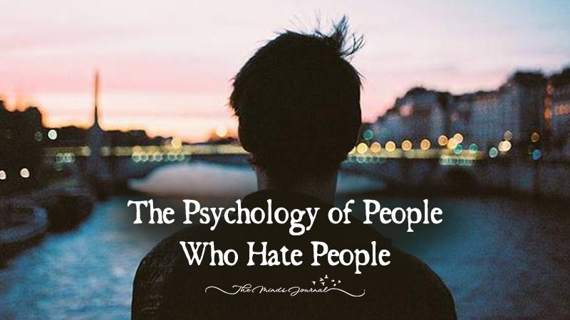 The Psychology of People Who 'Hate People'