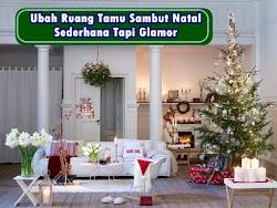 Ruang Tamu Bernuansa Natal