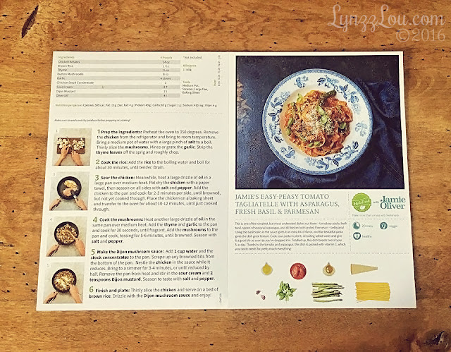HelloFresh Recipe Booklet