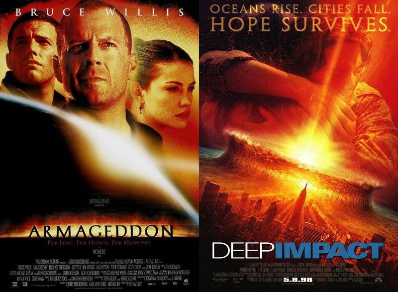 F This Movie Twinsies Deep Impact V Armageddon