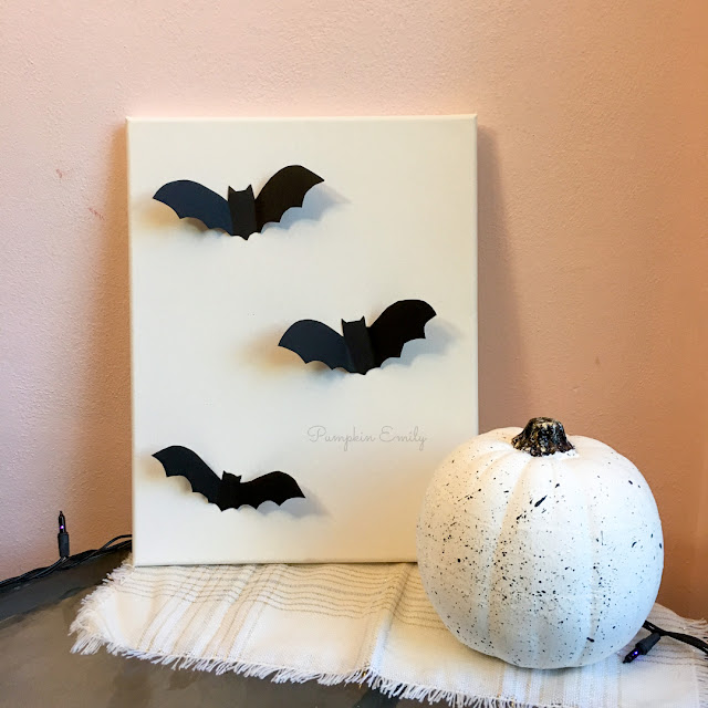 DIY Bat Canvas