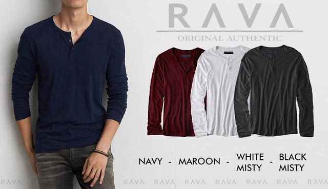 Kaos Pria terlaris dan terbaru - Rava