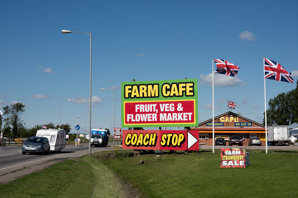 Lincolnshire farm shop - copyright ChrisGoddard