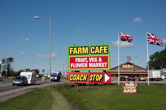 Lincolnshire farm shop - copyright ChrisGoddard