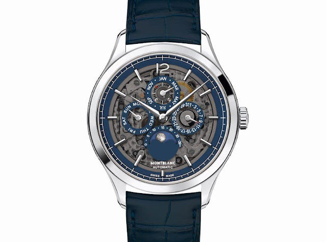 Montblanc Heritage Chronométrie Perpetual Calendar Sapphire ref. 118513