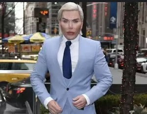 I'm tired of plastic surgeries after lavishing over $500k on 60 surgeries in the bid to look exactly like perfect human -  Human Ken Doll Rodrigo