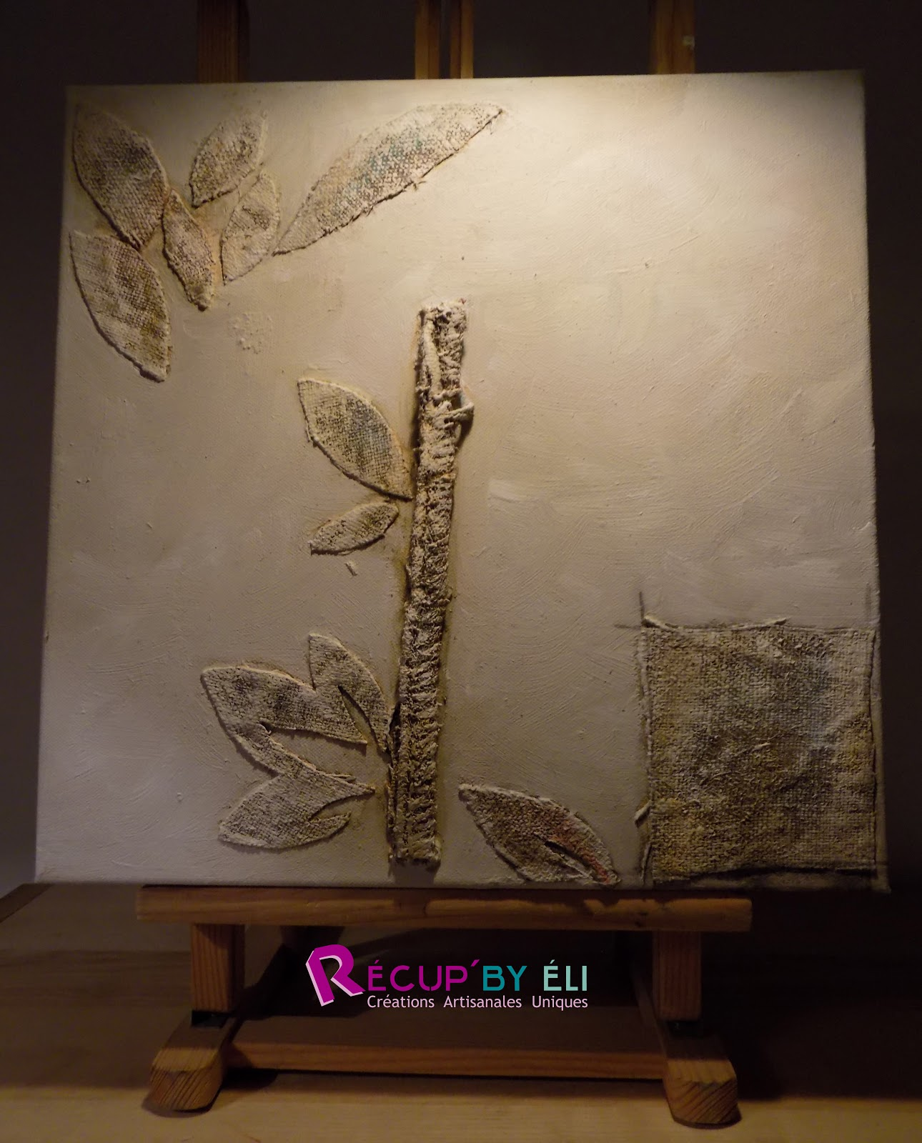 d coration murale tableaux artistiques sur toile jute. Black Bedroom Furniture Sets. Home Design Ideas