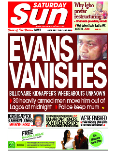 Breaking News: Kidnapper Evans has escaped Police custody