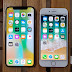 Apple iPhone X vs Apple iPhone 8 Comparative Review, Side by Side Actual Photos, Specs and Price Comparison