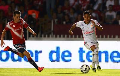 Morelia consigue ganar 1 a 0 a Veracruz