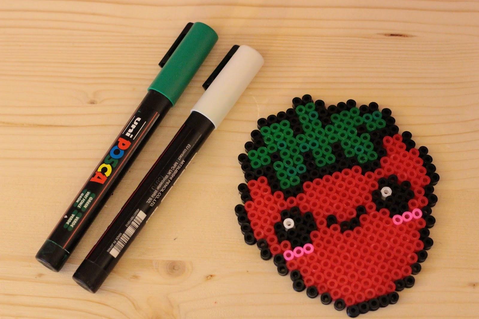 feutre posca fraise