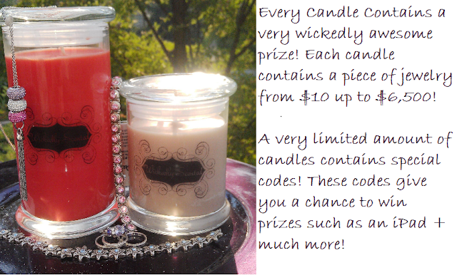 Free Blogger Opportunity | 10 Winners Get Wickedly Scented Candles Candles with Jewelry
