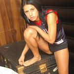 Andrea Rincon, Selena Spice Galeria 27 : Camiseta Basket, Cachetero Negro Foto 8