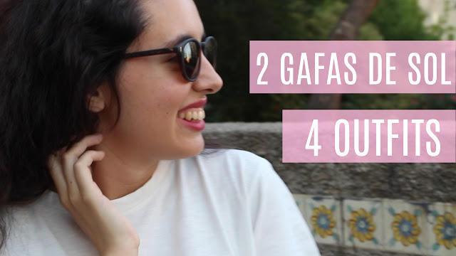 2 GAFAS DE SOL 4 OUTFITS Falling for A