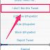 تويتر تضيف زر جديد لتحديد التغريدات غير المرغوبة