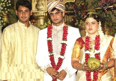 Mahesh Babu with Sudheer Babu and Priyadarshini