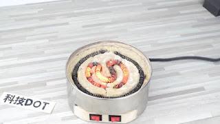 membuat sendiri kompor listrik mini dari kaleng biskuit sederhana