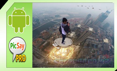Cara Edit Foto Manipulasi Motret Kota di Picsay Pro Android