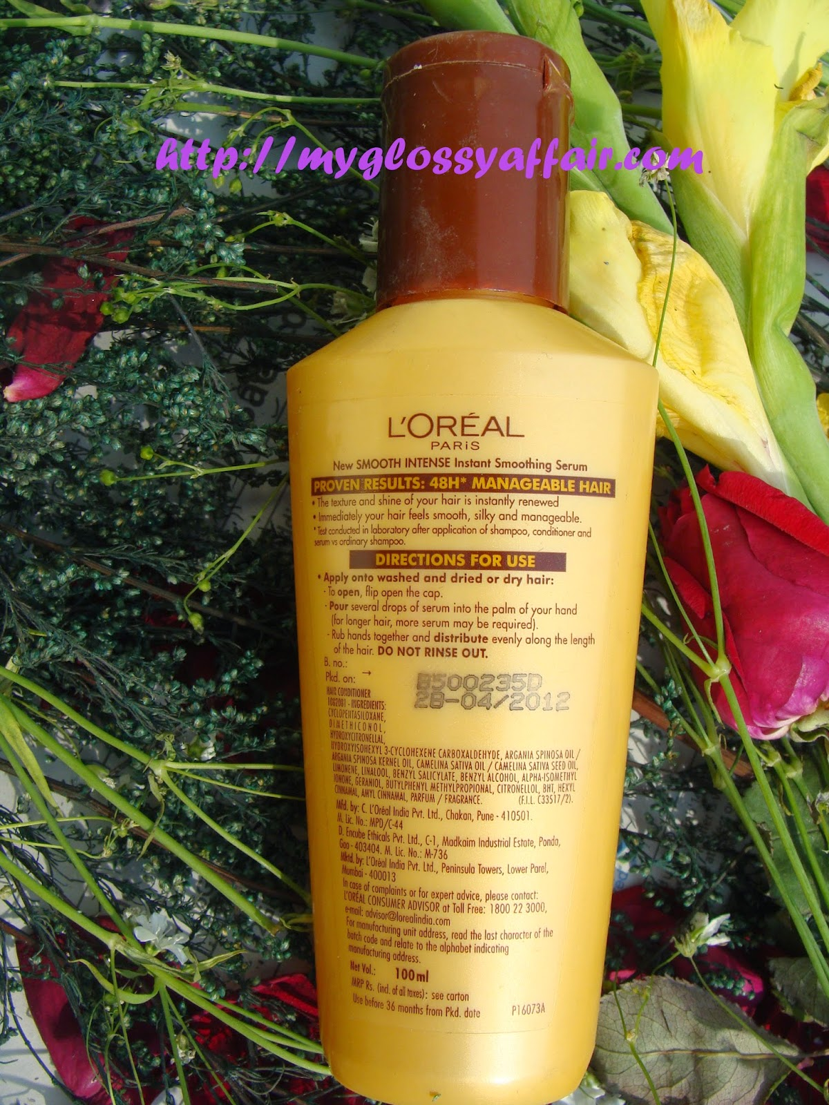 Loreal Paris Smooth Intense Instant Smoothing Serum Review