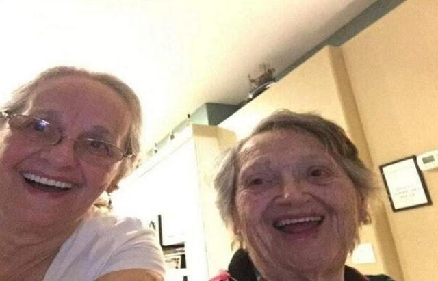 Mulher reencontra a filha que pensava estar morta há 69 anos