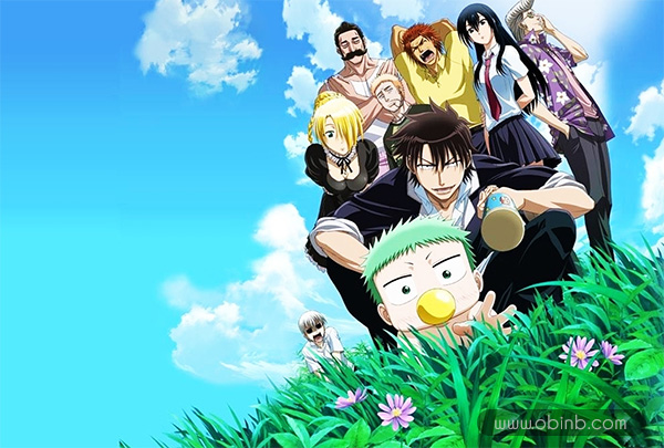 Tổng hợp những bộ anime bẩn bựa, hài hước đáng xem nhất