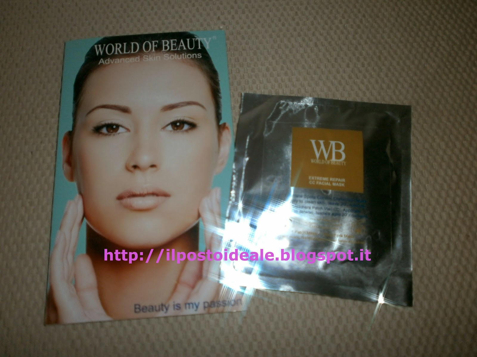 Maschera extreme CC World of Beauty