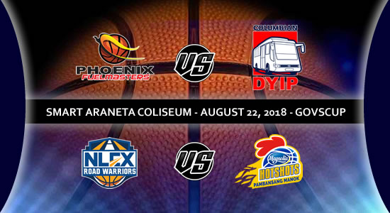List of PBA Games: August 22 at Smart Araneta Coliseum 2018 PBA Governors' Cup