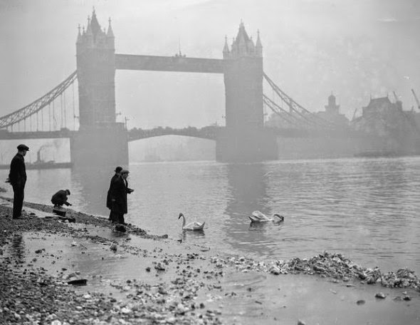 Ultimate Collection Of Rare Historical Photos. A Big Piece Of History (200 Pictures) - Tower Bridge