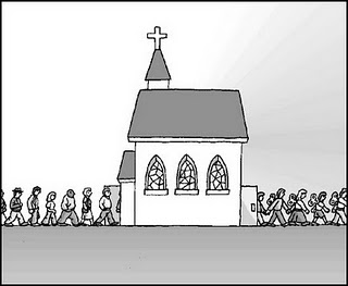 CRISTÃOS SEM IGREJA?