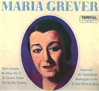 Imagen del María Grever en disco