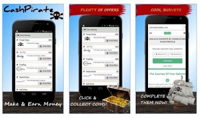 aplikasi penghasil pulsa cash pirate