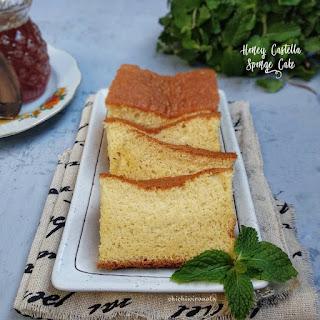 Resep Honey Castella Sponge Cake Sederhana Ala Rumahan