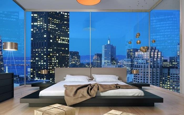 Japon Tarzı Yatak Odası Dekorasyonu