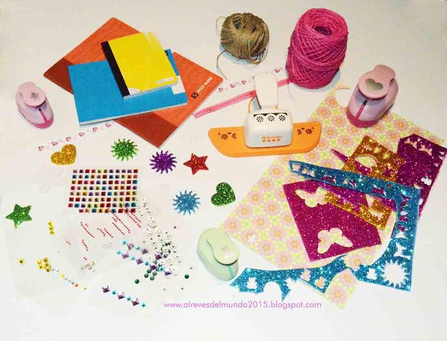 materiales diseño cuadernos