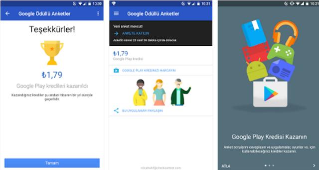 google para kazanma uygulaması