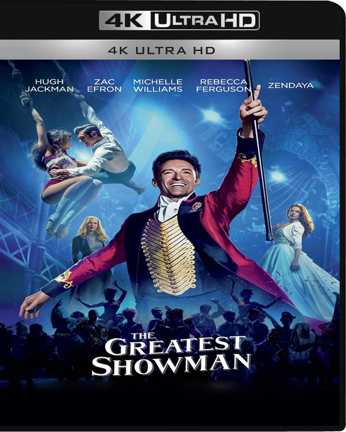 The Greatest Showman [2017] [UHD] [2160p] [Latino – Castellano]