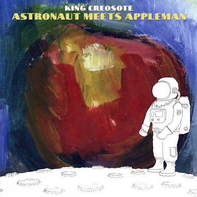 King Creosote - Astronaut Meets Appleman cover album